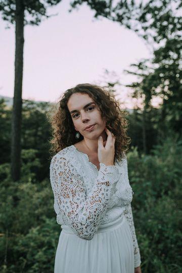 Elopement Bridal Portrait