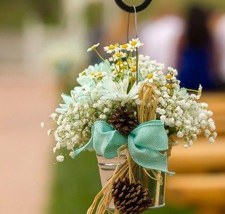 Daisy & gyp Aisle Design Florals by Rhonda llc Garland Photography