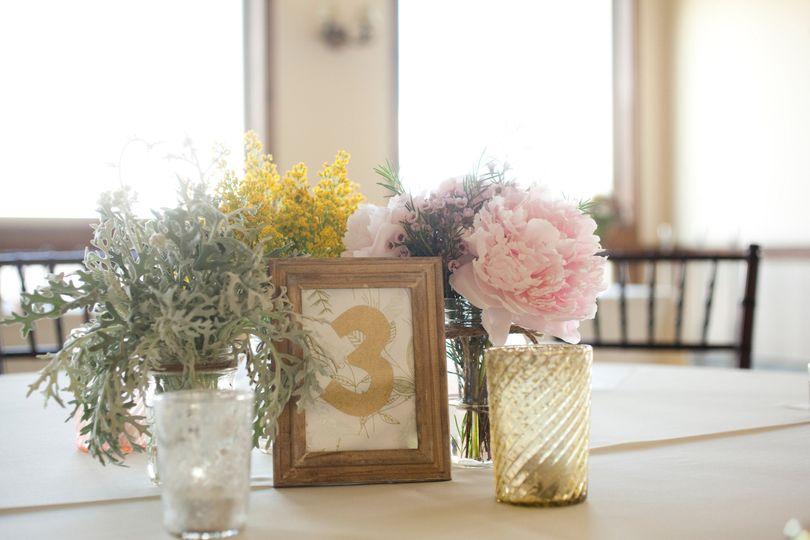 Vintage Table Decoration Florals by Rhonda llc
