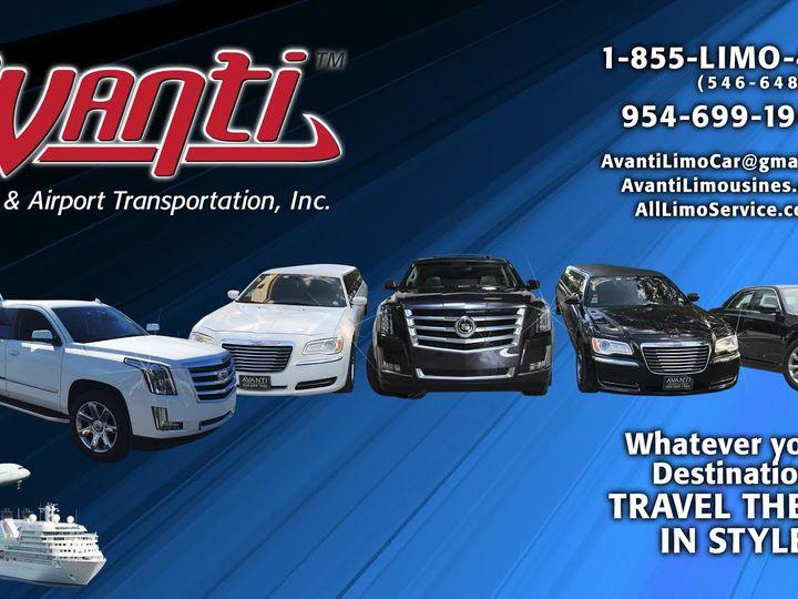 Tmx Avanti New Back Ground 51 712465 160400574924013 Boca Raton, FL wedding transportation