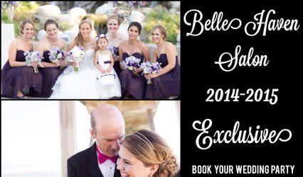 Belle Haven Salon Elegant Bridal Hair 1