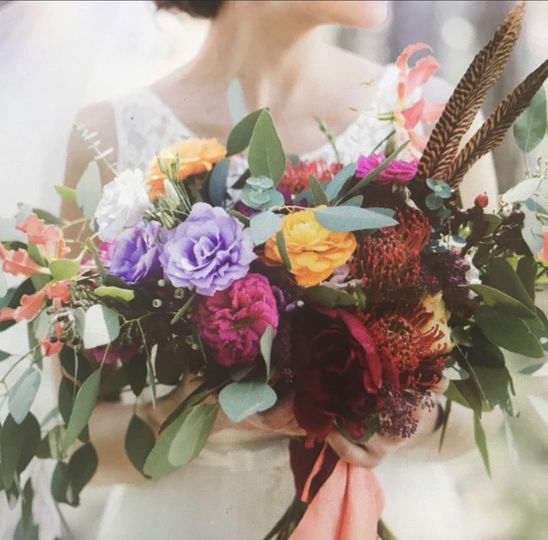 Colorful arrangement