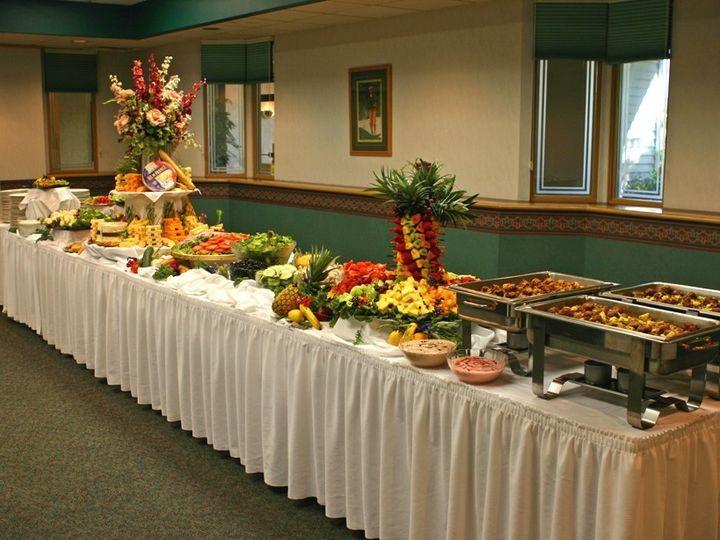 Tmx 1461862786368 Lgbuffettable Lynchburg, VA wedding catering