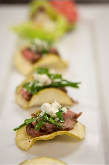 Plated Appetizers