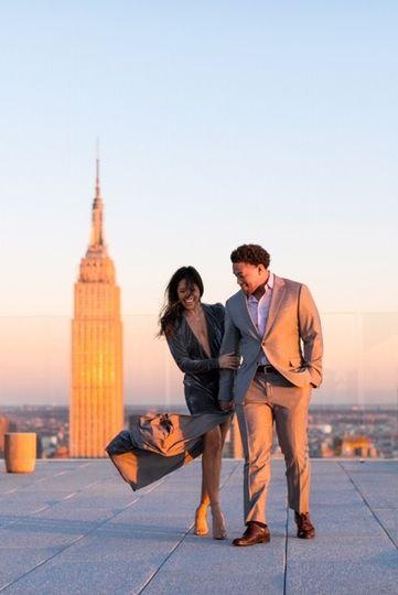 NYC Engagement Shoot