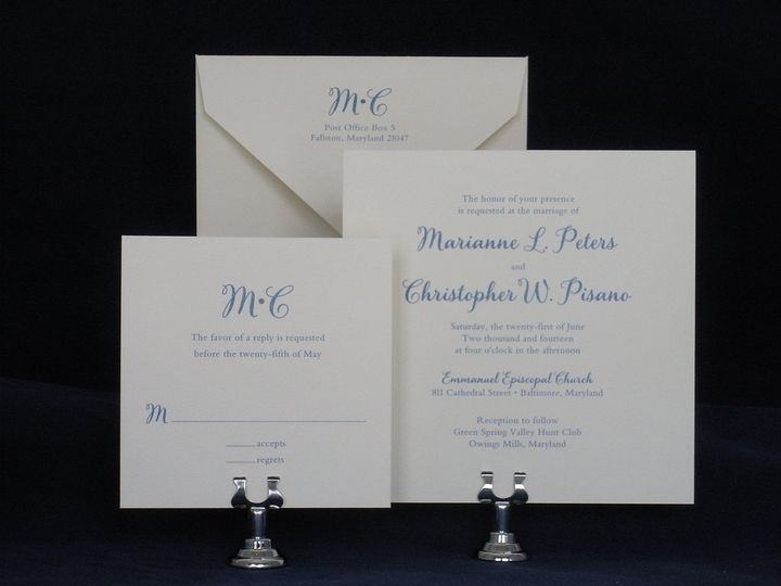 The Pleasure of Your Company - Invitations - Lutherville Timonium ...