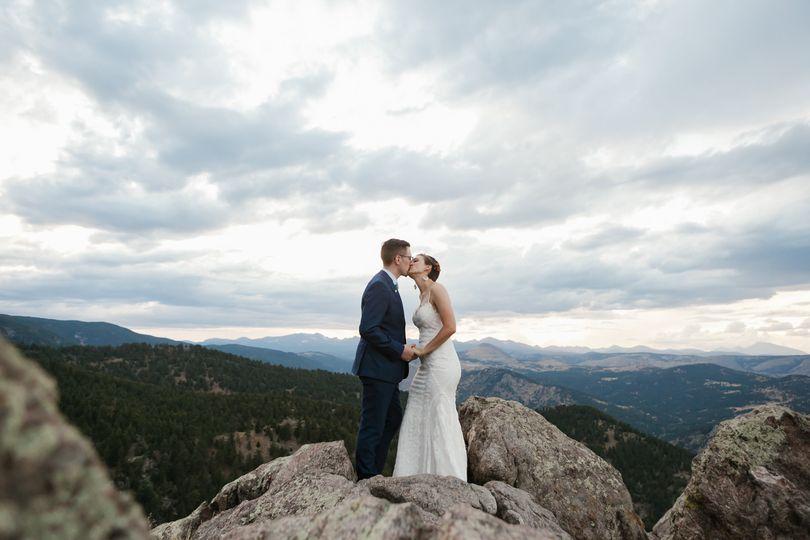 Adventure elopement Colorado