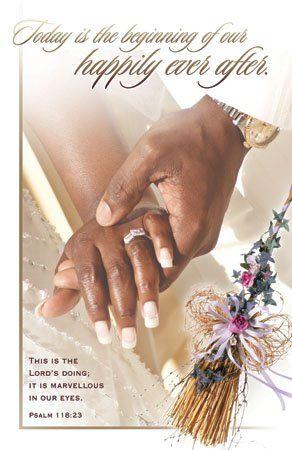 African American Wedding Programs