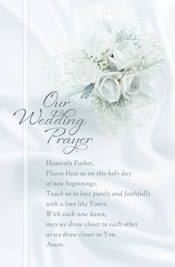 Wedding Ceremony Programs featuring white gardenias and pearls on a satin background. Will be a...