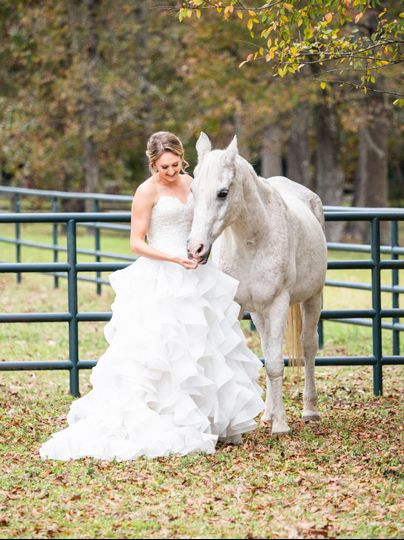 Bridal Session in Magnolia, TX