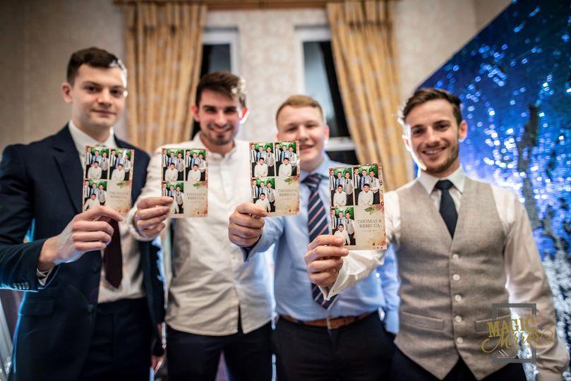 Wedding party men