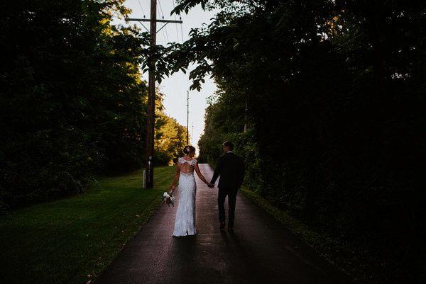 Sunset wedding video