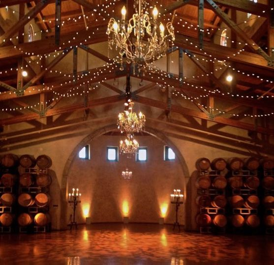 Barrel Room Setting