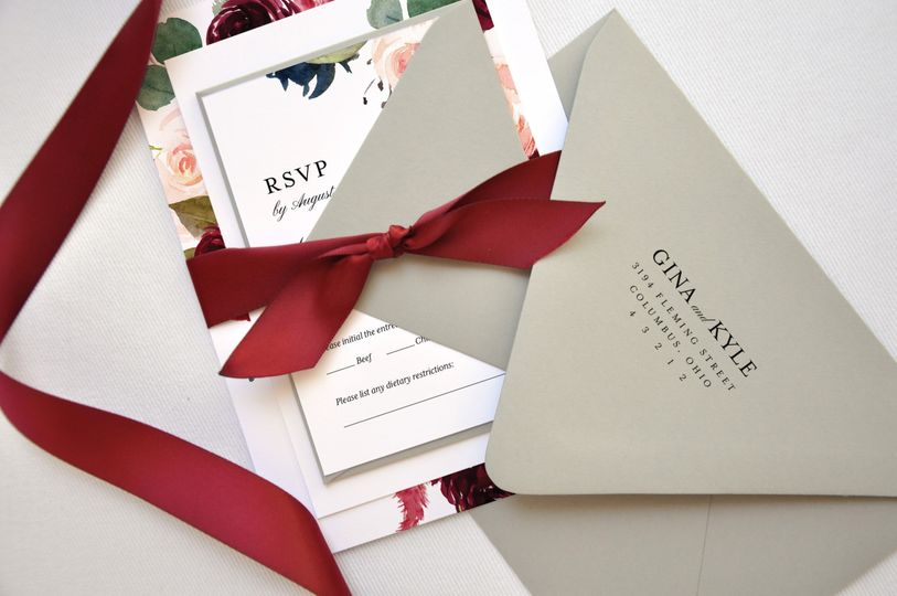 Ribbon and Address Printing