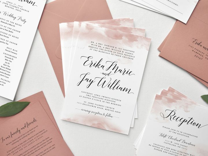 Tmx Erika And Jay Custom Wedding Invitation Suite All Pieces Paper Hearts Design Co 51 1375465 157991327933832 Mentor, OH wedding invitation