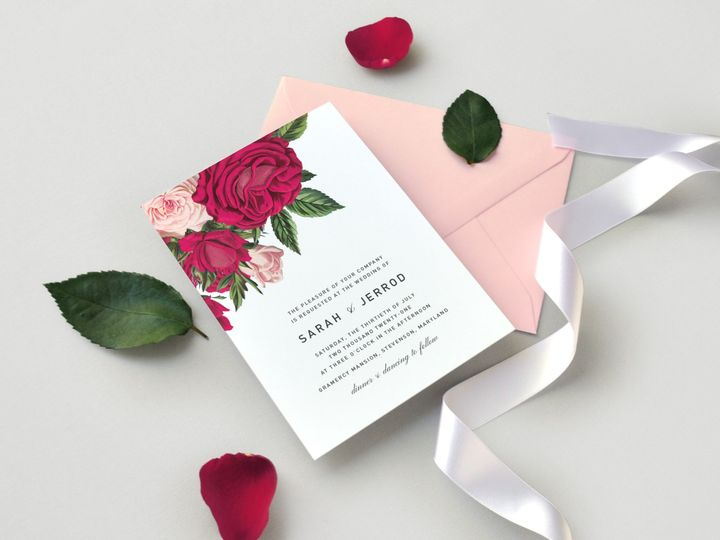 Tmx Romantic Garden Rose Wedding Invitation Two Piece Suite Side Paper Hearts Design Co 51 1375465 157991343627755 Mentor, OH wedding invitation