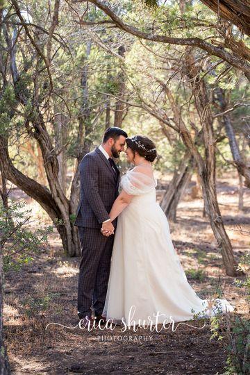 Beautiful backyard wedding