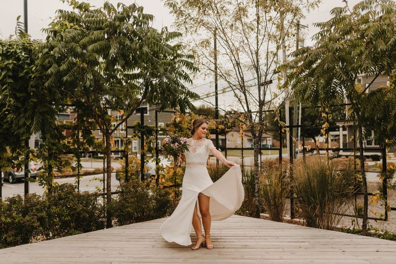 Loving bride