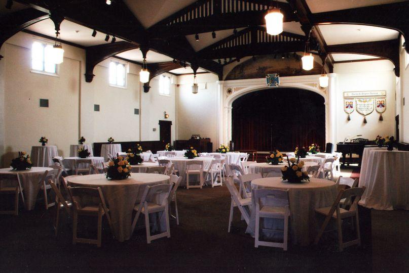 Reception in Ogilvie Hall