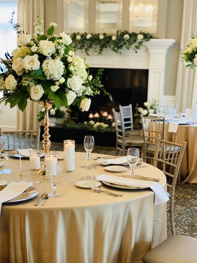 Reception elegance