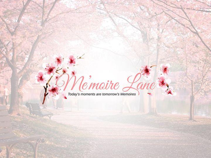 Tmx Memoire Lane Logo Pink Flower Backgrond 51 1058465 V1 Dallas, TX wedding planner