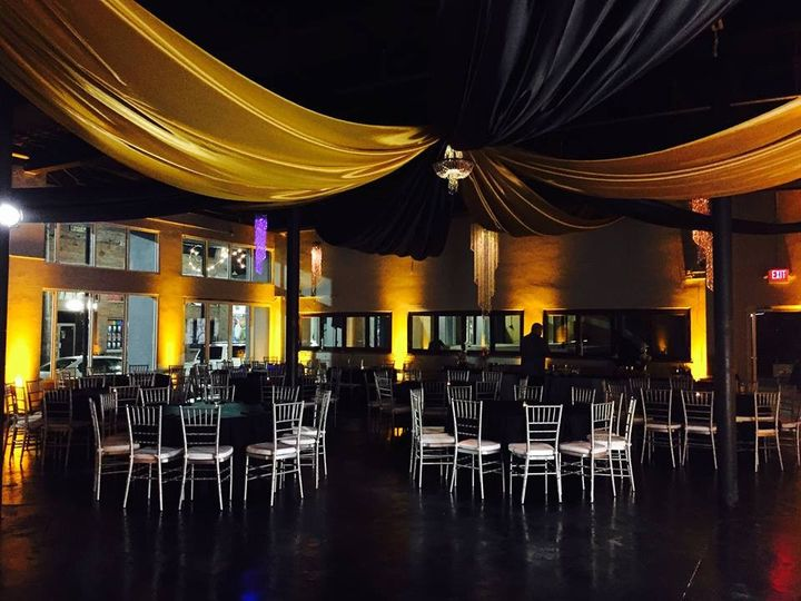 Tmx 1482961789326 Ceiling Draping  Up Lights 1 Tampa, FL wedding dj