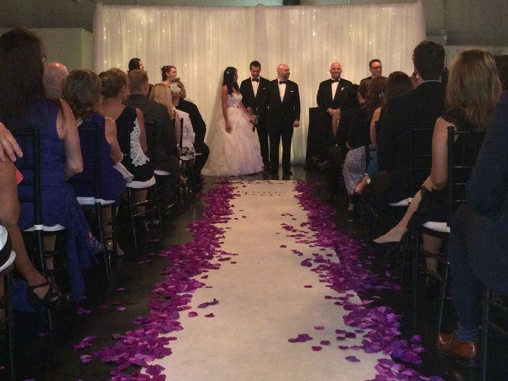 Tmx 1482961813904 Draping Backdrop White Crushed Sheer  String Light Tampa, FL wedding dj