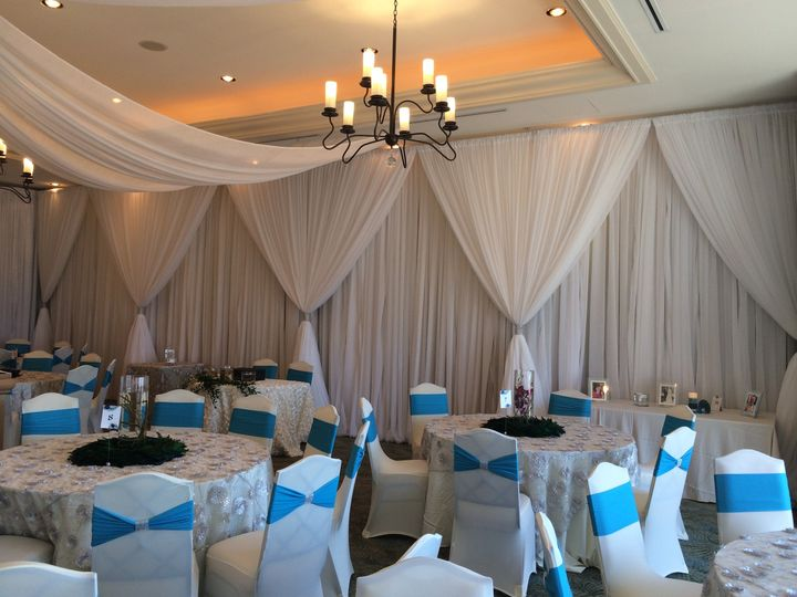 Tmx 1482962556169 Double Layer Of Draping Wall  Swag Tampa, FL wedding dj