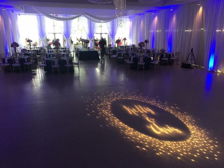 Tmx 1482963593993 Tampa Garden Club Draping  Lighting1 Tampa, FL wedding dj