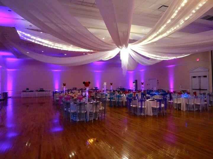 Tmx 1482963765746 The Regent   Ceiling Draping  Up Lighting Tampa, FL wedding dj
