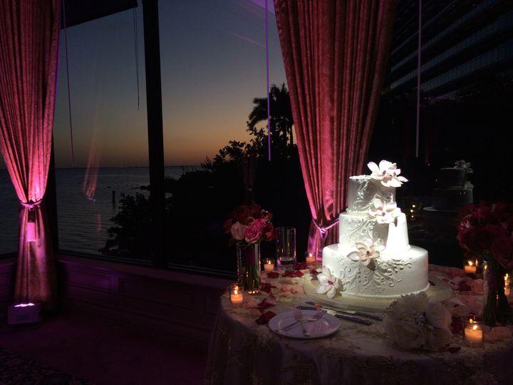 Tmx 1482965923996 Pin Spots On Cake  Up Lighting Tampa, FL wedding dj