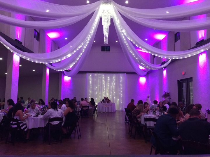 Tmx 1482965987691 Bakers Ranch   Ceiling Draping  Backdrop Tampa, FL wedding dj