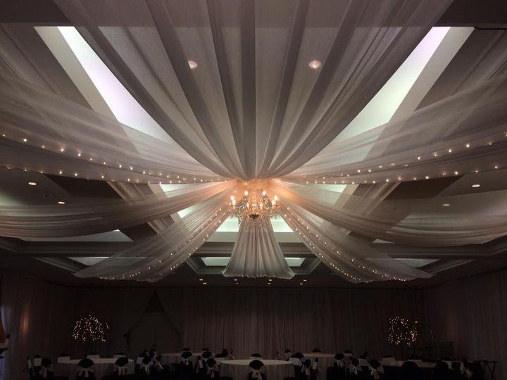 Tmx 1482970869289 Tampa Palms   Ceiling Draping  String Lights  Chan Tampa, FL wedding dj