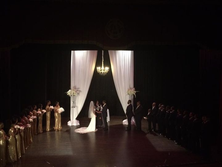 Tmx 1515009944613 Centro De Astoriano   Draping  Chandelier For Cere Tampa, FL wedding dj