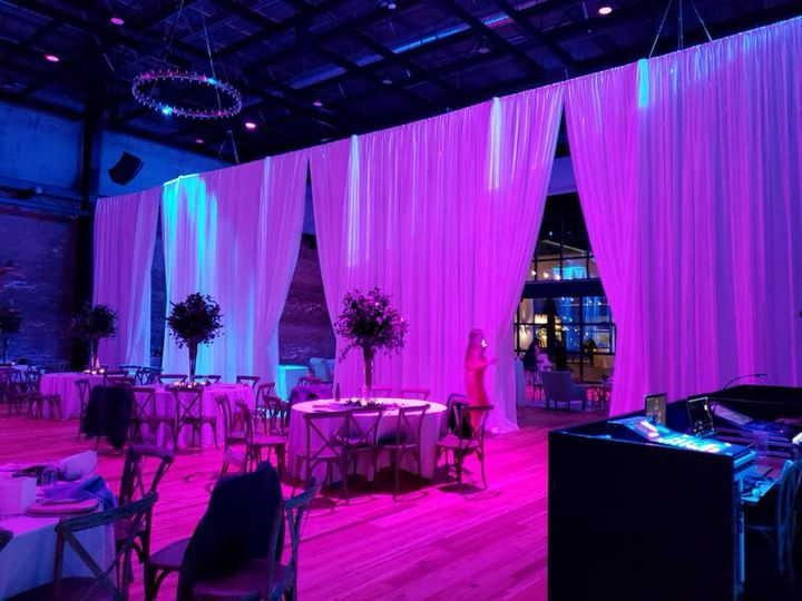 Tmx Armature Works Draping Approx 19 20 Ft High2 51 139465 V1 Tampa, FL wedding dj
