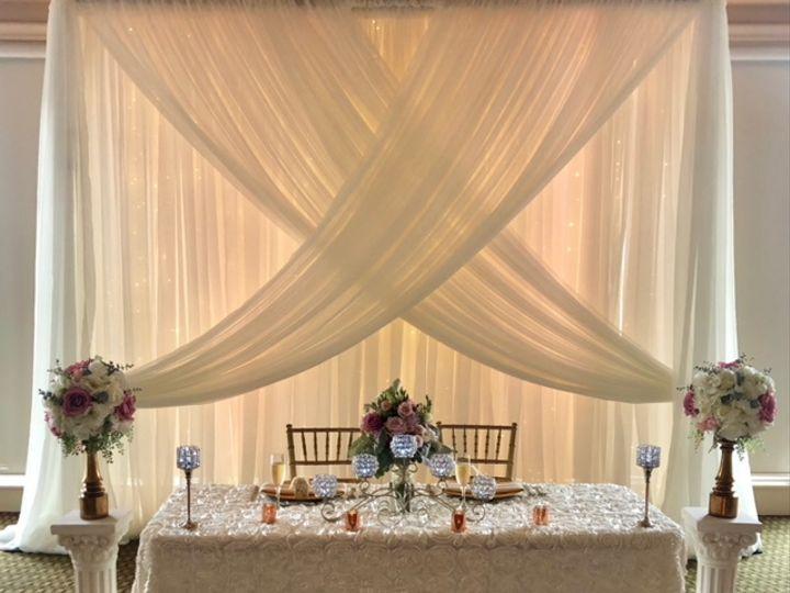 Tmx Hunters Green Standard Size Triple Layer Backrop String Lights X Design 51 139465 V1 Tampa, FL wedding dj