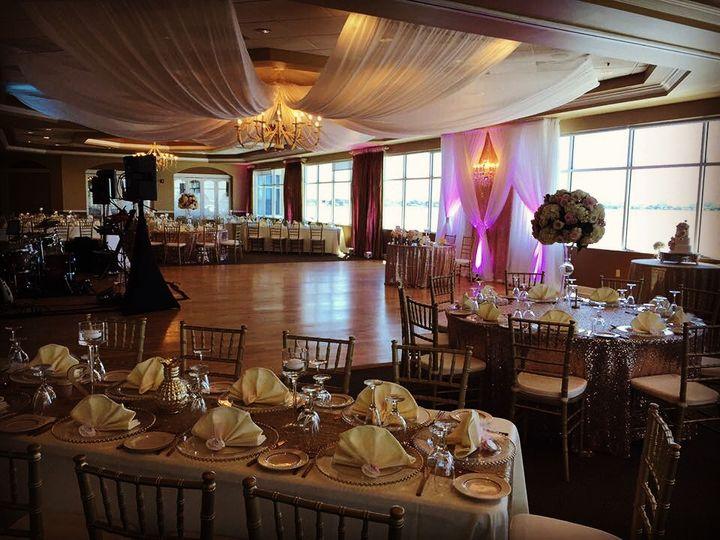 Tmx Isla Del Sol Designed Backdrop Ceiling Draping 51 139465 Tampa, FL wedding dj