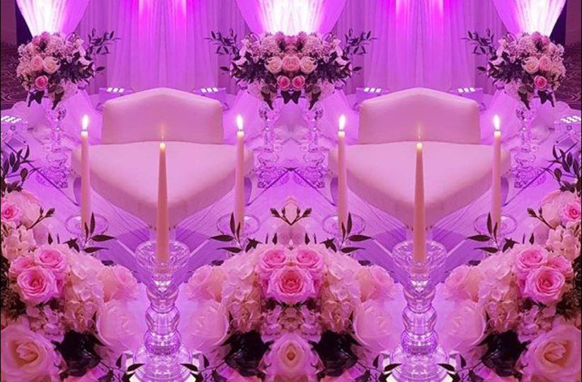 Bridal castle