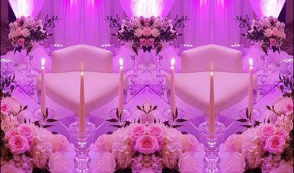 Bridal Castle Events Decoration