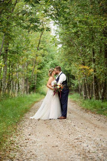 Trevor & Becky, trees