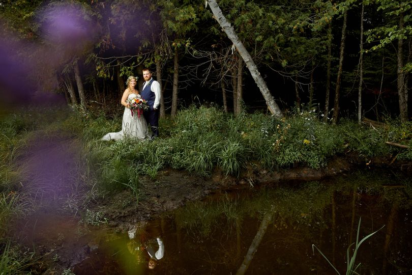 Trevor & Becky, forest