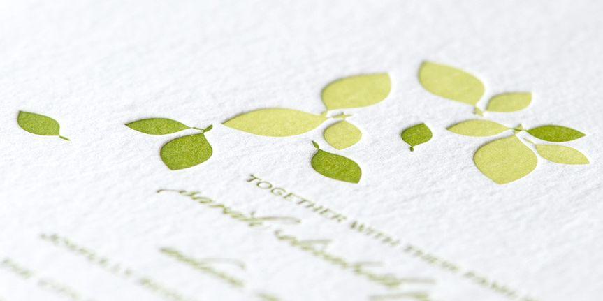 wedding invitaton letterpress washington dc