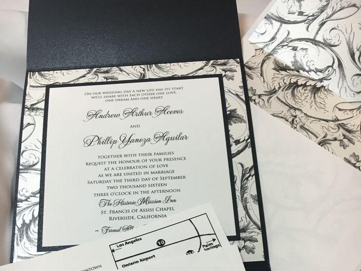 Tmx 1468093858482 Img3237 1 Riverside wedding invitation