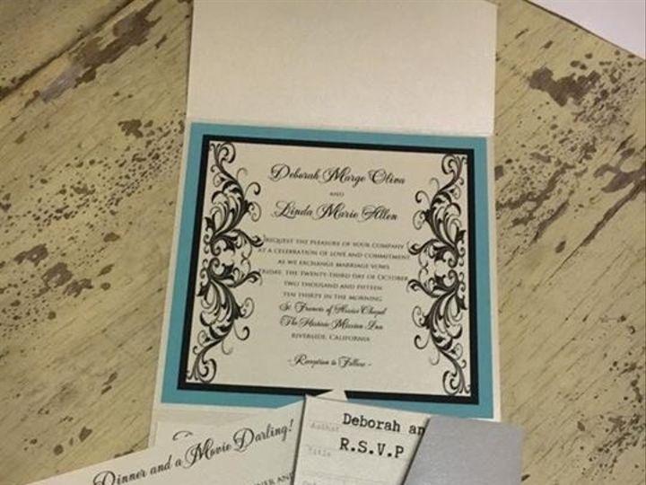 Tmx 1468094397907 Img3247 1 Riverside wedding invitation