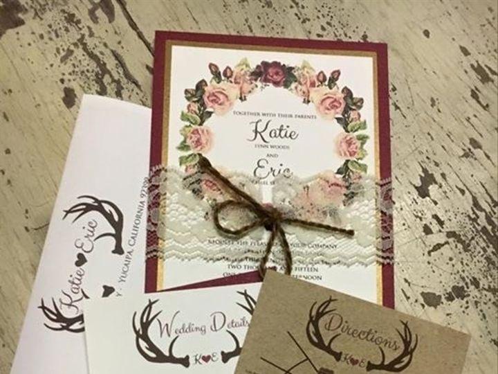 Tmx 1468094401837 Img3248 1 Riverside wedding invitation