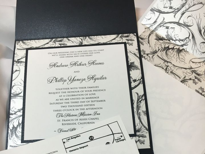 Tmx 1468094458645 Img3237 1 Riverside wedding invitation