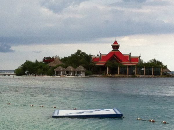 Private island at Sandals can be rented for your one of a kind island wedding