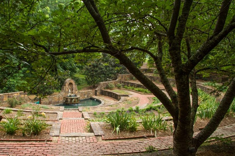Oak Hill Sunken Garden