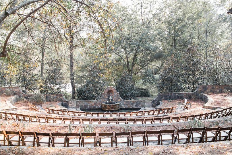 Oak Hill Sunken Garden Wedding