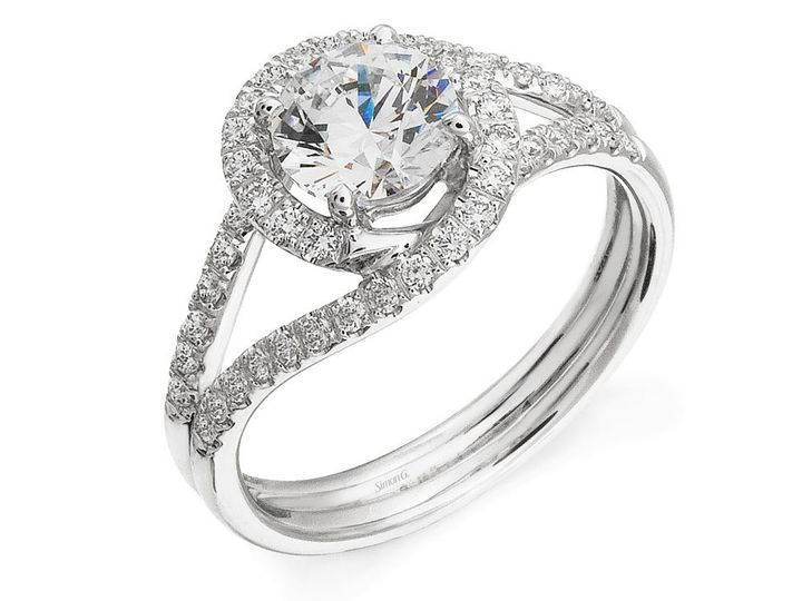 Tmx 1421170904267 Simon G Engagement Ring Bridgewater, New Jersey wedding jewelry